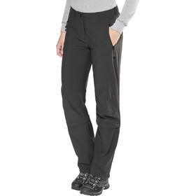 Schöffel Engadin Pantalon convertible avec fermeture éclair Normal Femme, black